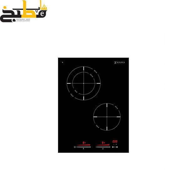 صفحه برقی دو المنته مدل Cristallo 2ES40CBV زیگما