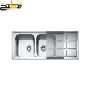 سینک استیل مدل Cuadro semiflo auto reversible زیگما
