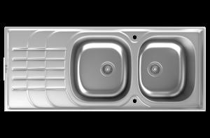 سینک استیل مدل DB-136 داتیس
