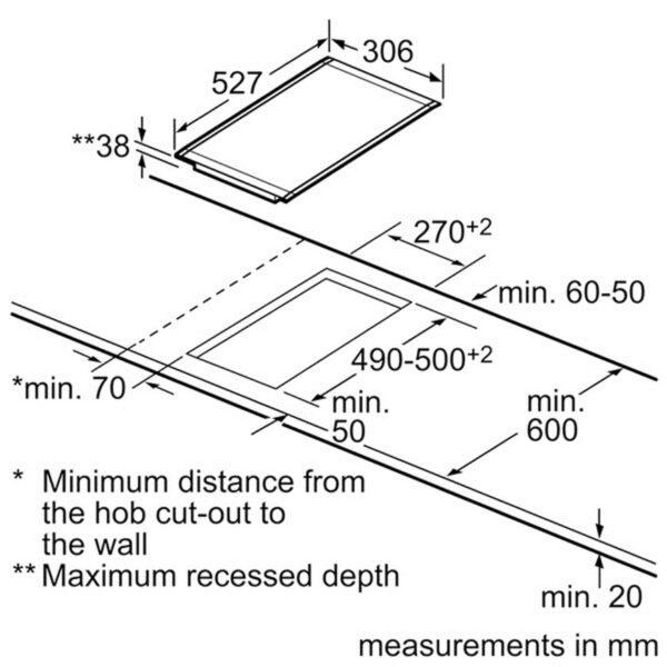 صفحه برقی دو المنته مدل PKF375N14E بوش