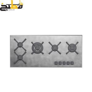 اجاق گاز استیل مدل Unique 5G 100 StVI زیگما