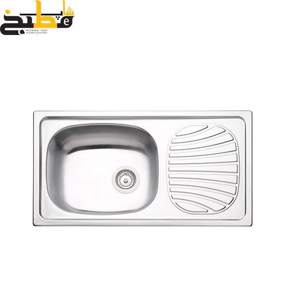 سینک ظرفشویی استیل مدل 93840 ترامونتینا
