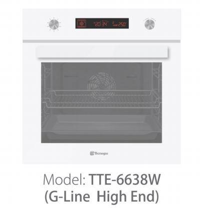 فر برقی تکنو 72 لیتری سفید TTE-6638W