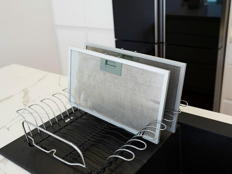 شستن فیلتر هود در ماشین ظرفشویی